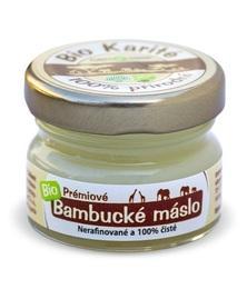 Fair Trade Bio Bambucké máslo 20 ml CZ