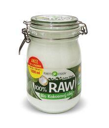 Raw Bio kokosový olej 900+100 ml