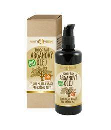 Bio pleťové oleje - Raw Bio Arganový olej 100 ml - 290117