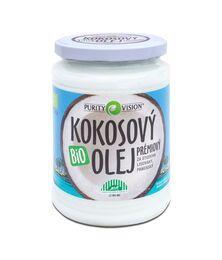 Fair Trade Bio Kokosový olej panenský 600 ml