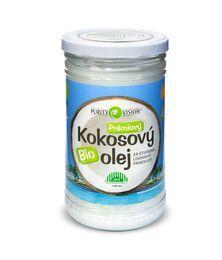 Bio kokosové oleje - Fair Trade Bio Kokosový olej panenský 900 ml - 290031