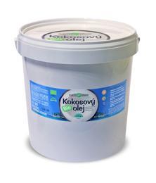 Bio kokosové oleje - Fair Trade Bio Kokosový olej panenský 10 l - 290060