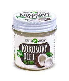Bio Kokosový olej bez vůně 120 ml
