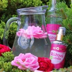 Limonáda z Bio Růžové vody PURITY VISION