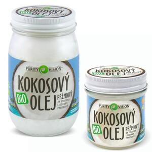 Bio Kokosový olej panenský PURITY VISION