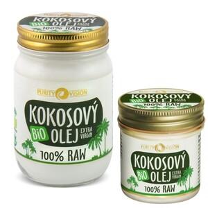 Bio Raw Kokosový olej PURITY VISION