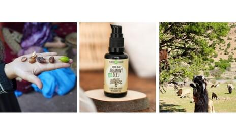 Raw Bio Arganový olej PURITY VISION