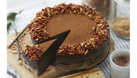 Recept na čokoládovo banánový raw dort PURITY VISION