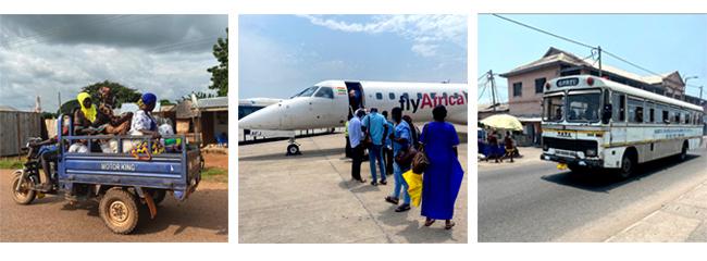 Dopravní prostředky v Ghaně