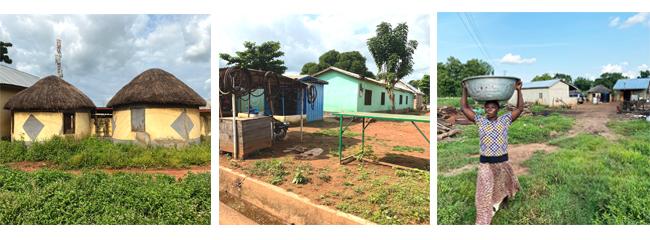 Ghanské tradiční obydlí