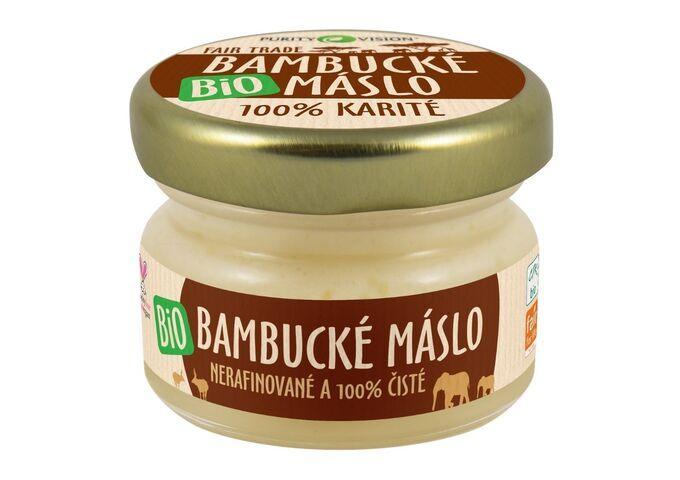 Bio bambucká másla - Fair Trade Bio Bambucké máslo 20 ml CZ - 290097