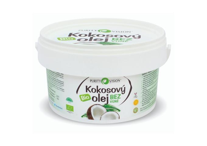 Bio Kokosový olej bez vůně - Bio Kokosový olej bez vůně 2,5 l - 290051
