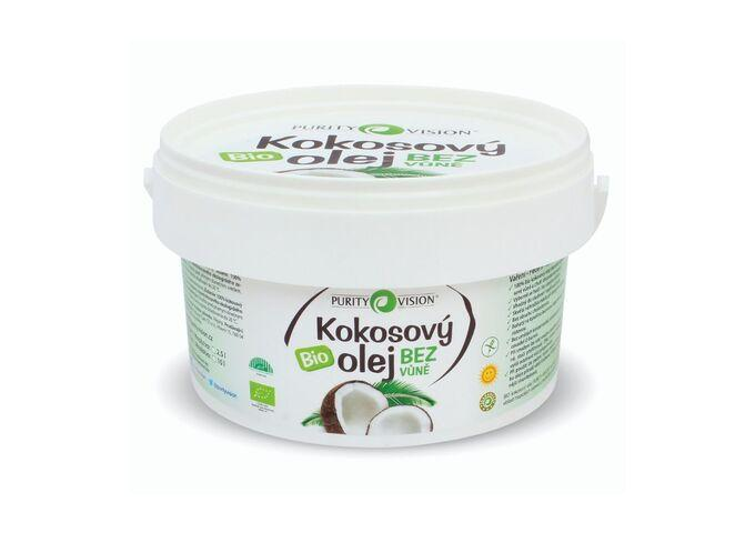 Bio Kokosový olej bez vůně 2,5 l