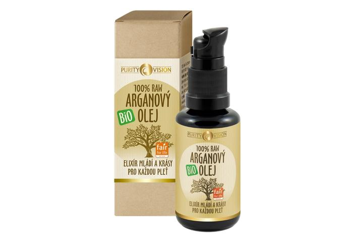 Bio pleťové oleje - Raw Bio Arganový olej 30 ml - 290106