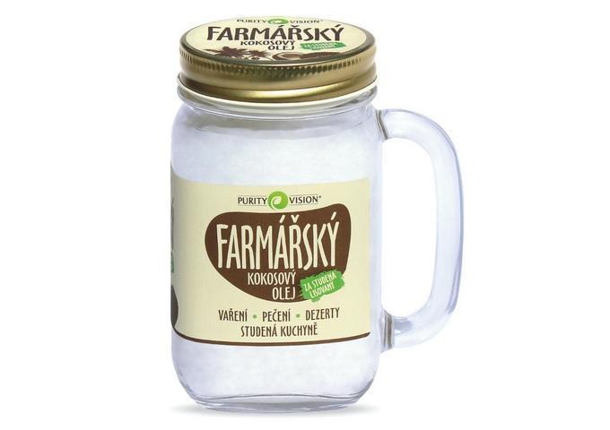 Kokosový olej farmářský - Kokosový olej farmářský 400 ml - 290103