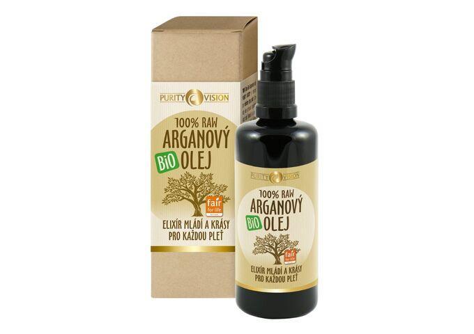Raw Bio Arganový olej 100 ml