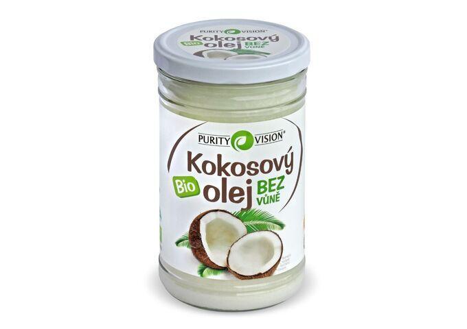 Bio Kokosový olej bez vůně - Bio Kokosový olej bez vůně 900 ml - 290066