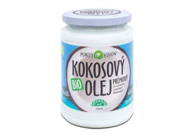 Bio kokosové oleje - Fair Trade Bio Kokosový olej panenský 600 ml - 290030