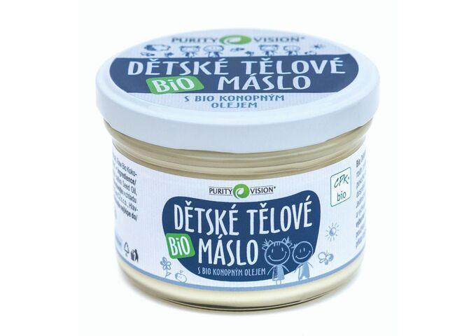 Bio Dětské tělové máslo 200 ml