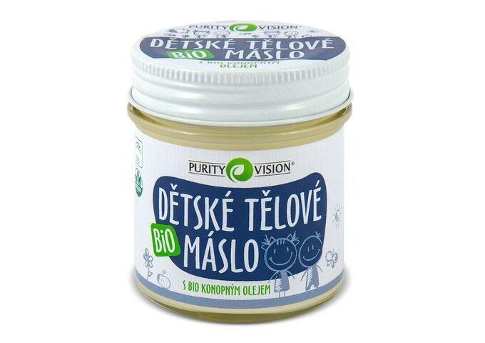 Bio Dětské tělové máslo 120 ml