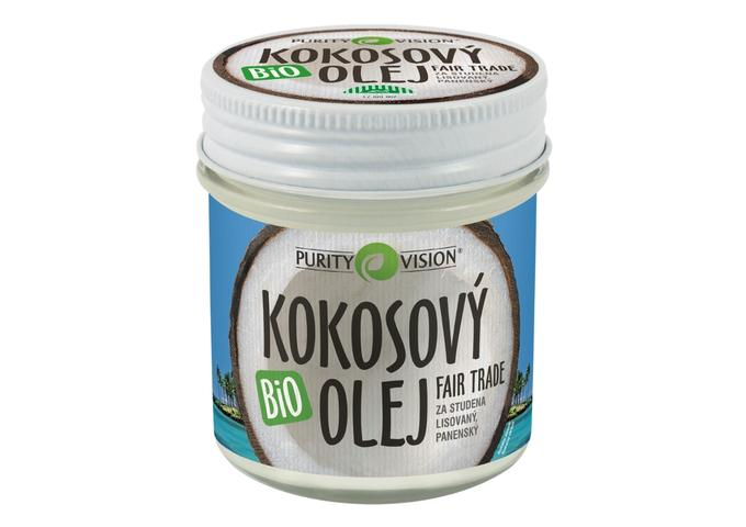 Bio kokosové oleje - Fair Trade Bio Kokosový olej panenský 120 ml - 290111
