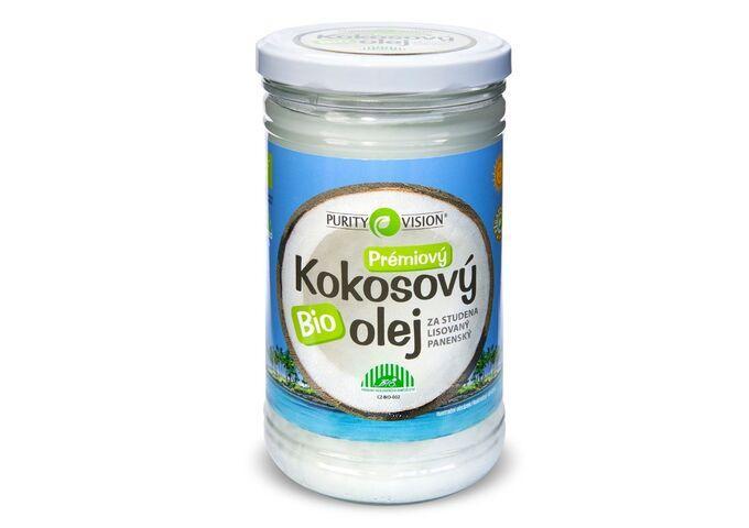 Fair Trade Bio Kokosový olej panenský 900 ml