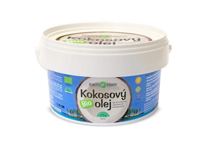 Bio kokosové oleje - Fair Trade Bio Kokosový olej panenský 2,5 l - 290061