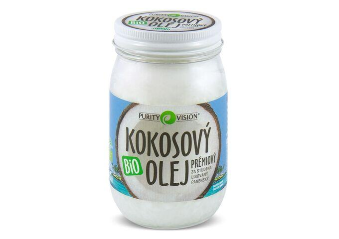Fair Trade Bio Kokosový olej panenský - Fair Trade Bio Kokosový olej panenský 420 ml - 290125