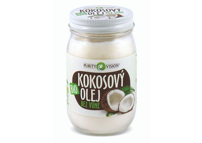 Bio Kokosový olej bez vůně 420 ml