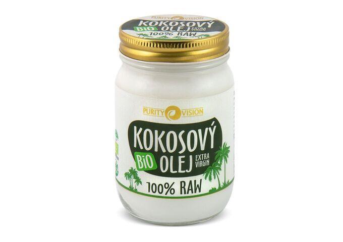 RAW Bio Kokosový olej - Raw Bio Kokosový olej 370 ml - 290124