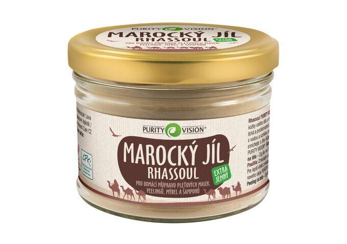 Pro dokonalou pokožku - Rhassoul - Marocký jíl 450 g - 290128
