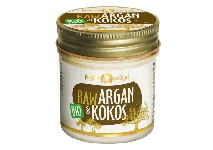 Bio kokosové oleje - Raw Bio Argan a Kokos 120 ml - 290155