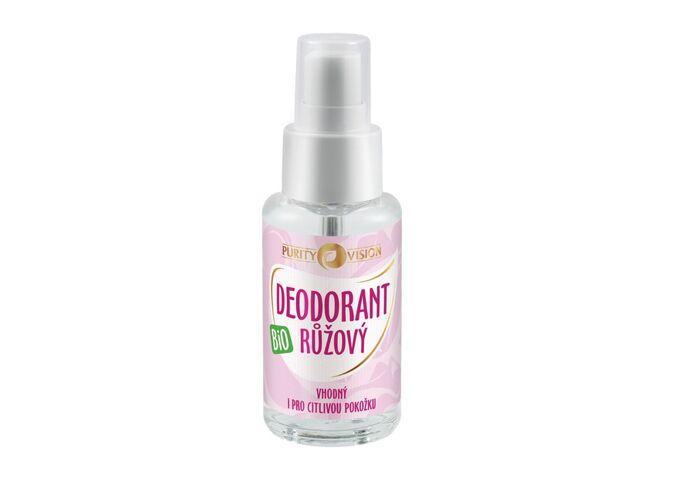 Bio Růžový Deodorant 50 ml