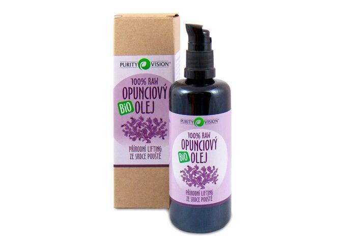 Bio pleťové oleje - Raw Bio Opunciový olej 100 ml - 290118