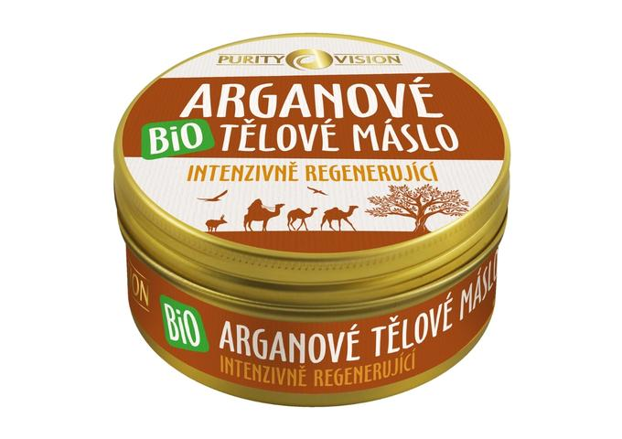 Péče o těhotenské bříško - Bio Arganové tělové máslo 150 ml - 290108
