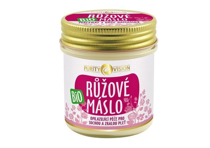 Péče o pleť - Bio Růžové máslo 120 ml - 290158