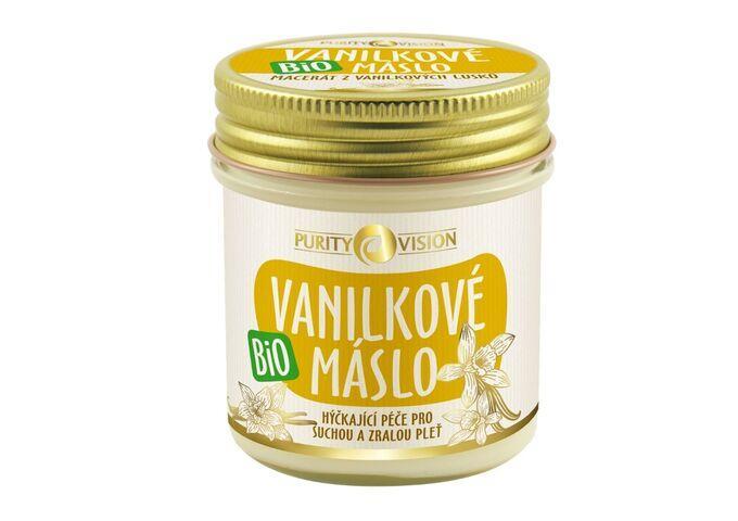 Péče o pleť - Bio Vanilkové máslo 120 ml - 290159