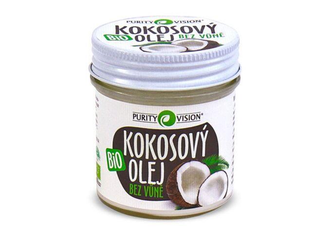 Bio Kokosový olej bez vůně - Bio Kokosový olej bez vůně 120 ml - 290121