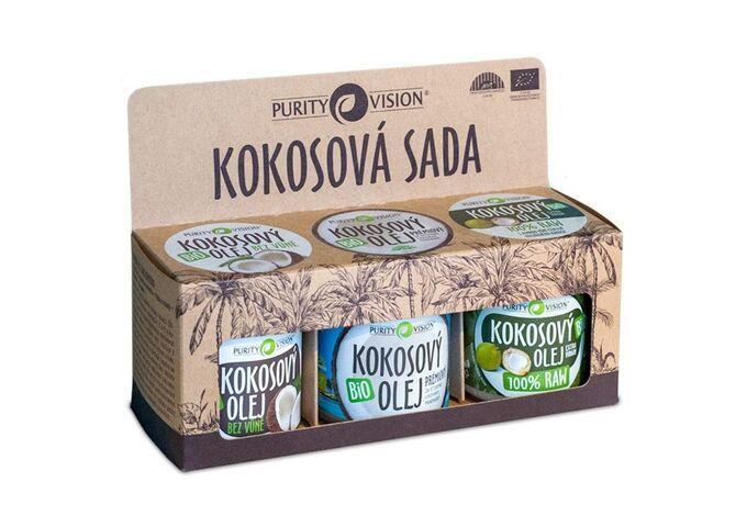 Bio kokosové oleje - Kokosová sada - 290114