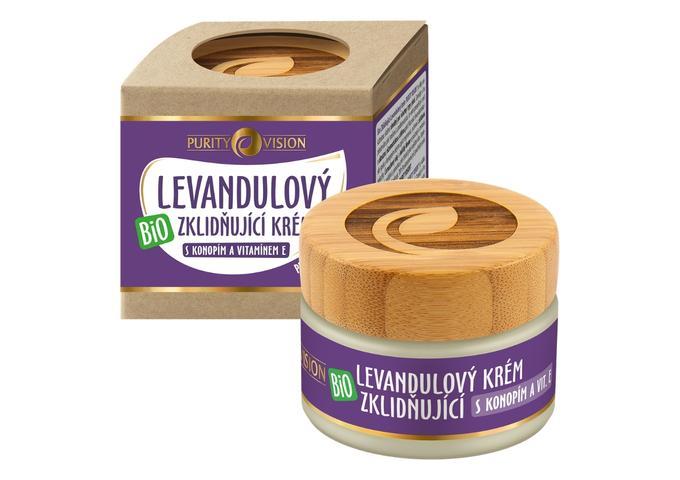 Pleťové krémy - Bio Levandulový krém zklidňující 40 ml - 290239