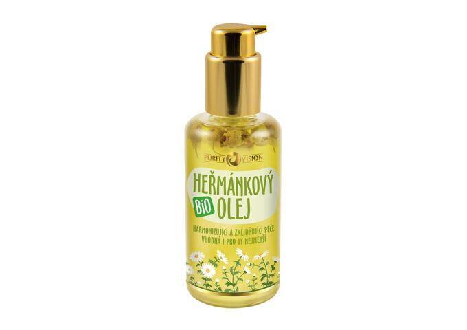 Bio Macerované oleje - Bio Heřmánkový olej 100 ml - 290229