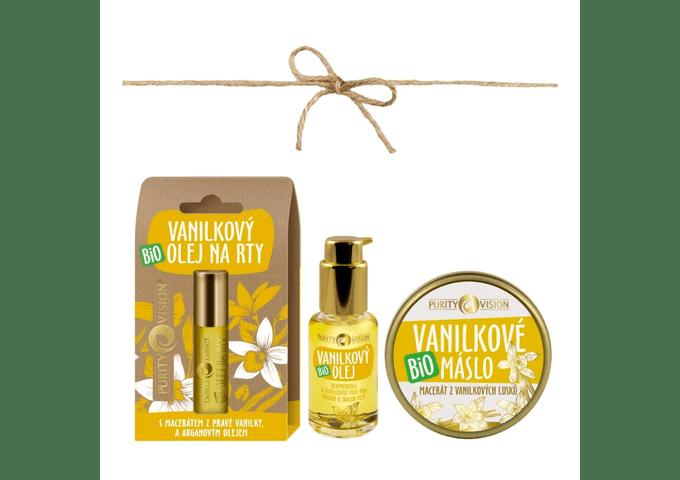 Bio Macerované oleje - Set Vanilkové péče - PV0017