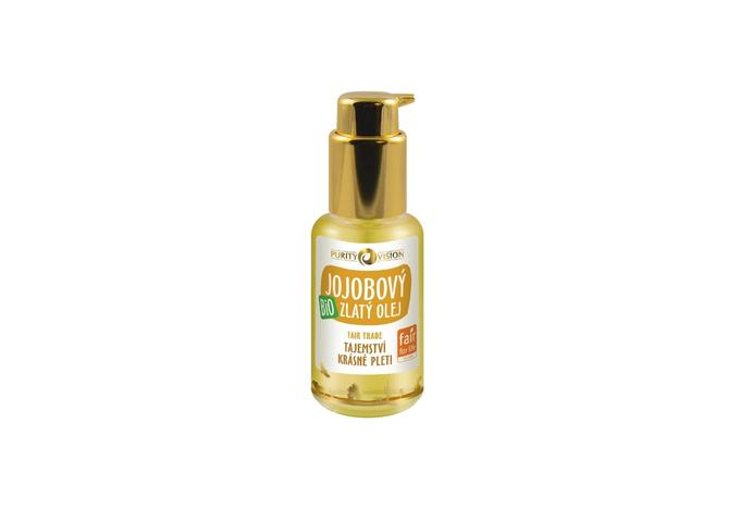 Tělové oleje - Bio Zlatý jojobový olej - Fair Trade 45 ml - 290250